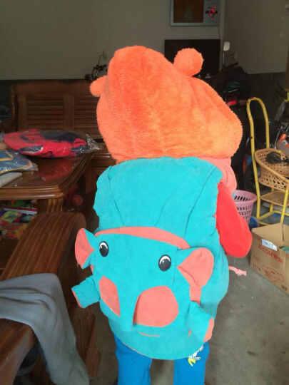 皮皮牛(PPN) 皮皮牛童装 儿童马甲冬装宝宝加绒保暖背心婴幼儿外出服 黄色 100码建议身高90-100CM 晒单图