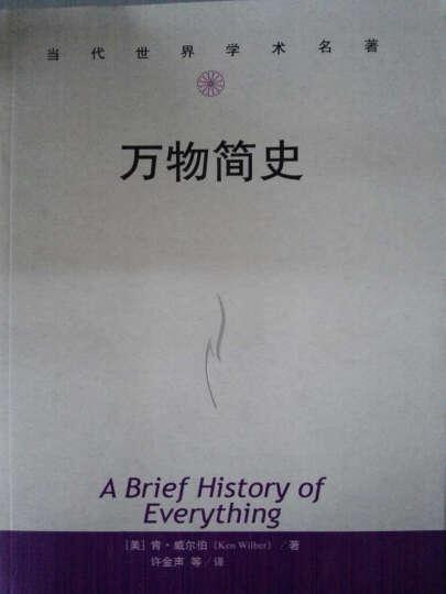万物简史(当代世界学术名著) [【美】肯·威尔伯/ 中国人民大学出版社 晒单图