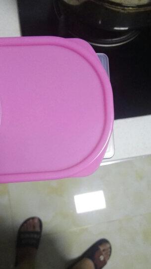 百露单个装大号 厨房杂粮密封罐 塑料五谷收纳罐储物罐 单个颜色随机 晒单图