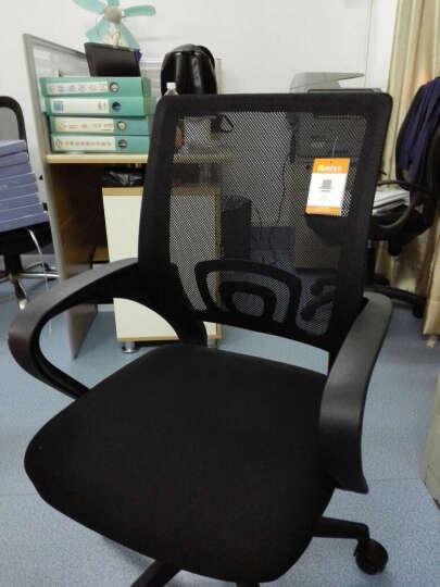 奥斐(AOFI) 【OF580家具网】电脑椅 办公椅 升降转椅人体工学椅 两张起发货黑色 晒单图
