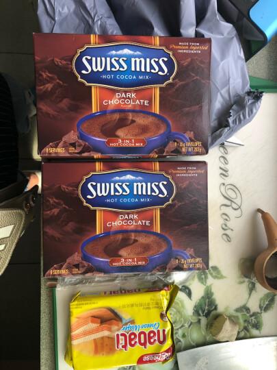 【2份立减】瑞士小姐Swiss Miss牛奶巧克力冲饮粉可可粉冲饮热巧克力粉 浓情283g*2 晒单图