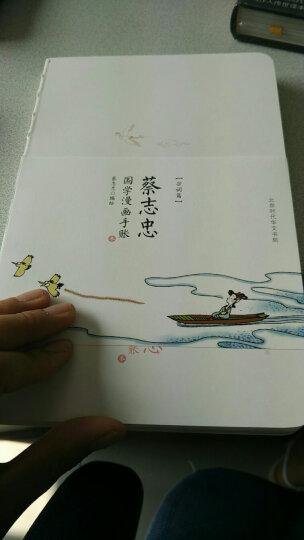 蔡志忠宋词手账本 晒单图