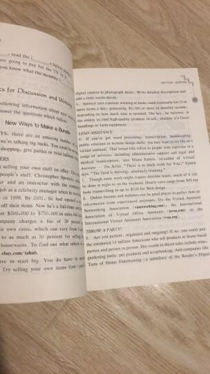 上海外语口译证书培训与考试系列丛书·英语中级口译证书考试:中级阅读教程(第4版) 晒单图