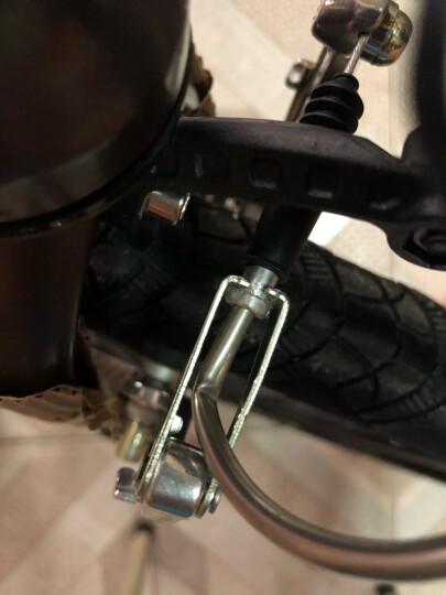 大行(DAHON) 折叠自行车20寸8速成人超轻男女式单车P8青春版KAC082 消光咖啡色 晒单图