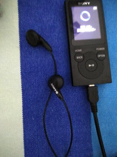 索尼(SONY) 索尼 MP3播放器 音乐随身听 FM广播 8G/16G续航35小时 学生听英语 黑色16G 晒单图