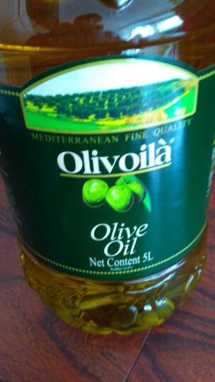 欧丽薇兰 Olivoilà 食用油 压榨纯正橄榄油5l 晒单图