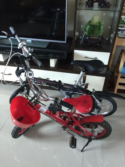 大行(DAHON) 折叠自行车14寸超轻铝合金成人学生便携代驾单车BYA412 黑色 晒单图
