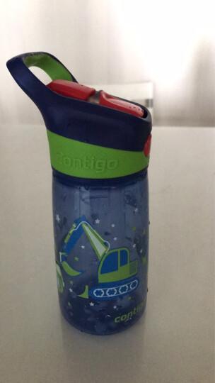 contigo儿童吸管塑料水杯夏季运动便携水杯450ML挖掘机HBC-STR057 晒单图