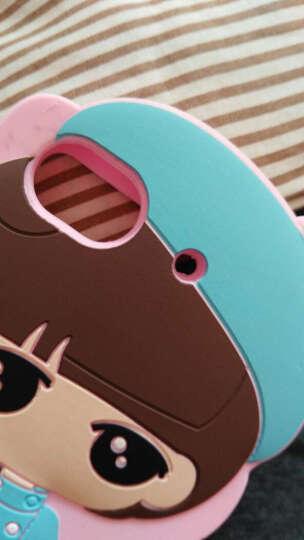熊伟 华为荣耀畅玩4C手机壳防摔全包硅胶卡通 华为荣耀4C手机套C8818全网通/电信版 蓝色快乐兔-小希 晒单图