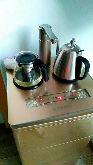 美菱(MeiLing) 饮水机立式家用茶吧机智能速热开水机MY-C21 土豪金 晒单图