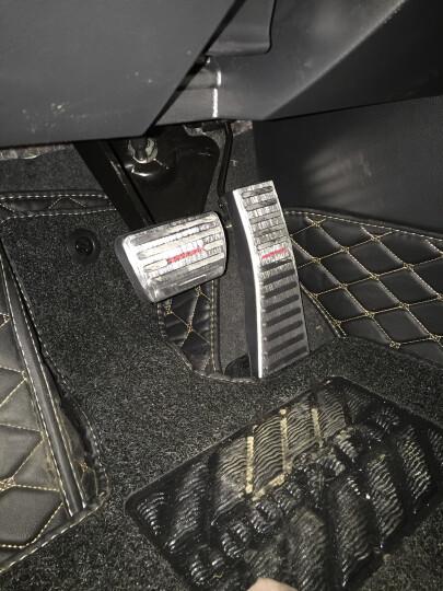 拓玛仕(TUOMASHI) 拓玛仕 本田冠道油门踏板冠道URV改装专用刹车踏板防滑免打孔 冠道-太空银 晒单图