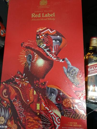 尊尼获加(Johnnie Walker)洋酒 威士忌 红方 调配型苏格兰威士忌 700ml(礼盒装) 晒单图
