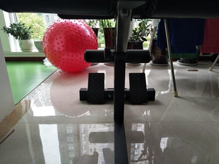 创思维 罗马椅健身椅山羊挺身背部腰部训练家用仰卧起坐运动健身器材CSW9003T 罗马凳(黑) 晒单图