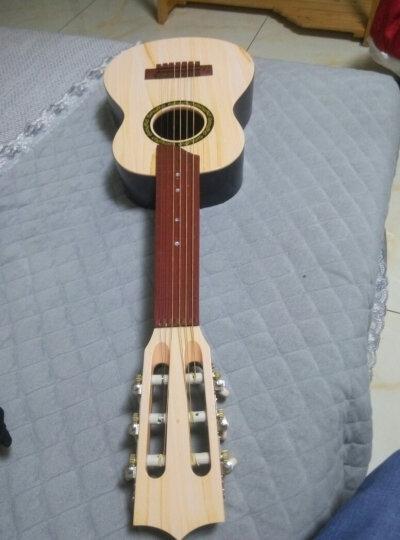六美(LIUMEI) 尤克里里初学者乌克丽丽乐器 六弦真丝68cm仿黄杨木(送教程+背带) 晒单图