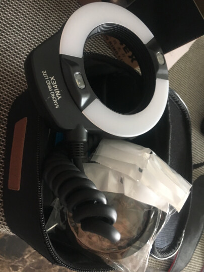 永诺YN-14EX 微距环形闪光灯佳能口支持TTL功能环闪灯,适用于口腔拍摄 微距摄影 晒单图