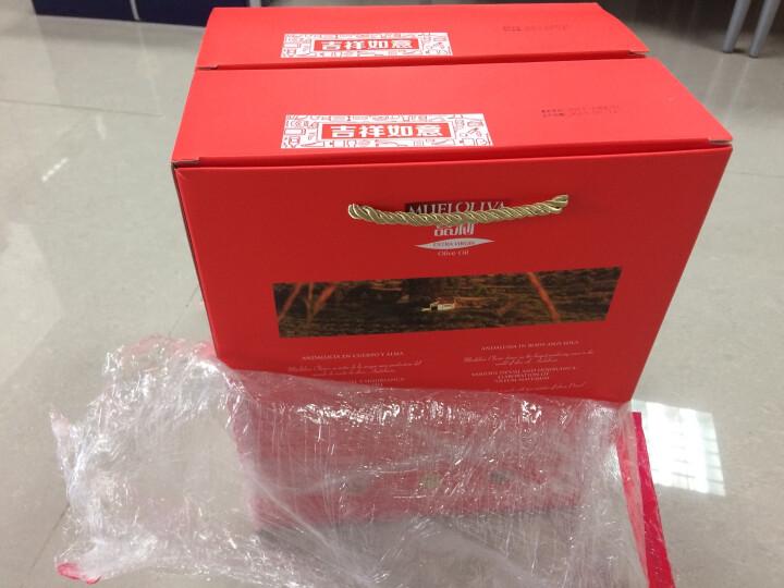 西班牙进口 品利 (MUELOLIVA) 特级初榨橄榄油礼盒 500ml*2瓶 端午送礼 晒单图