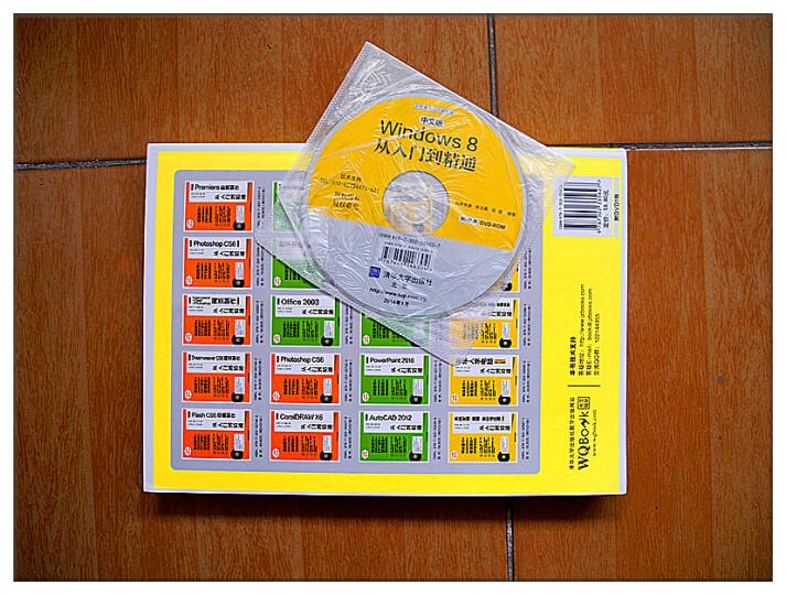 学电脑从入门到精通:中文版Windows 8从入门到精通(附DVD-ROM光盘1张) 晒单图
