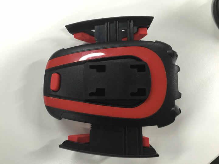 研美车配 车载出风口可伸缩手机架 360度手机导航支架(黑色) 晒单图
