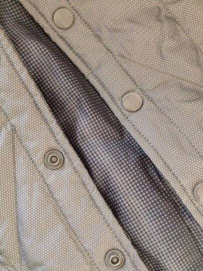 鸭鸭(YAYA)秋冬外套男士休闲商务保暖羽绒背心马甲男D-202 炭灰 190/104A 晒单图