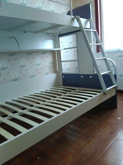 多喜爱(DUOXIAI) 多喜爱实木床儿童家具  儿童实木床 进口松木单人床双人床 原木色单床 1200*2000mm 晒单图