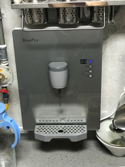 博乐宝(BluePro) 净水器 反渗透无桶1.3升大流量低废水1:1 C02H1 即滤直饮家用净水机+即热管线机 晒单图
