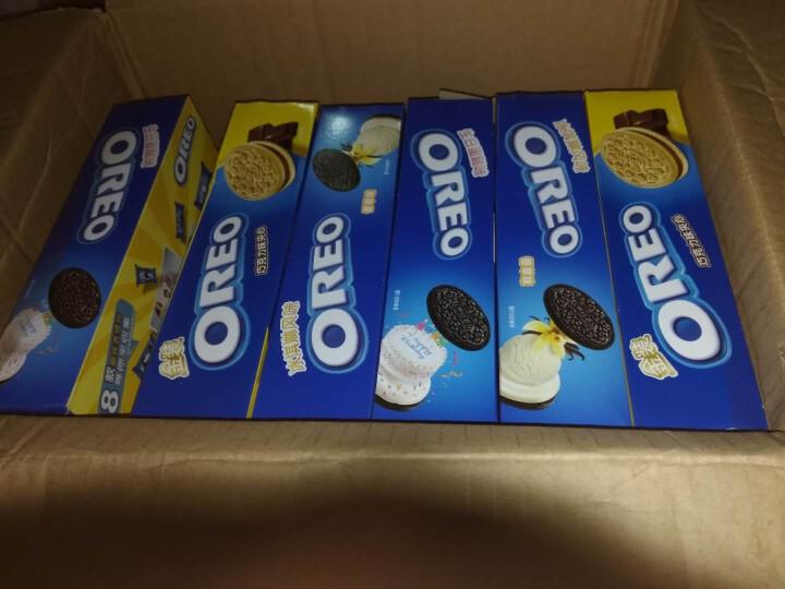 奥利奥Oreo早餐休闲零食蛋糕糕点冰淇淋夹心饼干抹茶味194g 晒单图