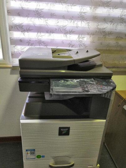 夏普(SHARP)2508NC/2008UC大型A3办公彩色激光A3A4一体机复印机扫描打印机复合机 2008UC+自动输稿器(扫描到U盘) 官方标配+工作台 晒单图