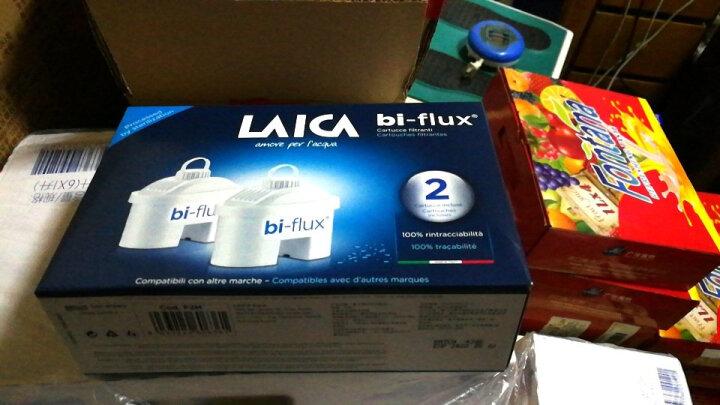 莱卡(LAICA)双导流滤水壶1壶1芯 2.3L J703(热情橙)意大利原装进口 家用滤水壶净水壶净水器滤芯 晒单图