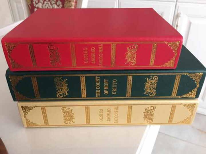 莎芮 欧式伯爵书房装饰书 仿真书 摄影道具模型假书 书橱书柜橱窗摆设   一套16本 晒单图