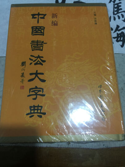 新编中国书法大字典 晒单图