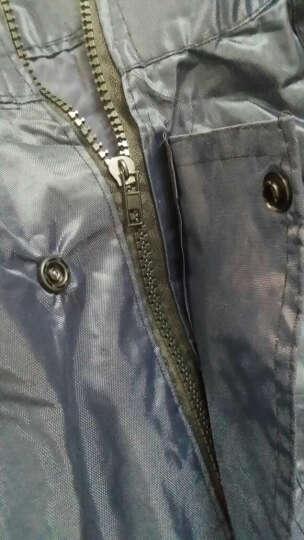 辰光 雨衣电动车雨衣单人摩托车自行车男士厚分体雨衣雨裤两件套装成人包邮 深蓝色 均码 晒单图