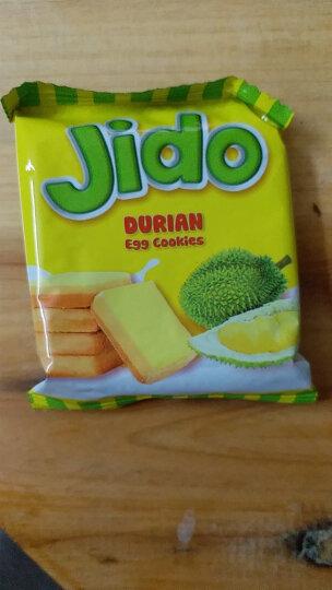 面包干饼干进口Jido面包干300g 越南特产榴莲饼干牛奶饼干蛋糕 榴莲味面包干 90gx6包 晒单图