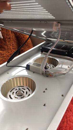 希箭/HOROW浴霸集成吊顶风暖换气吹风LED灯泡照明多功能卫生间浴霸开关式 双核动力机械按键白色 晒单图