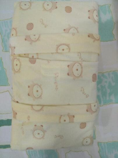 欧育 婴儿枕头宝宝定型枕防偏头新生儿纠正偏头0-1-3岁 U形护枕 浅蓝 . 晒单图