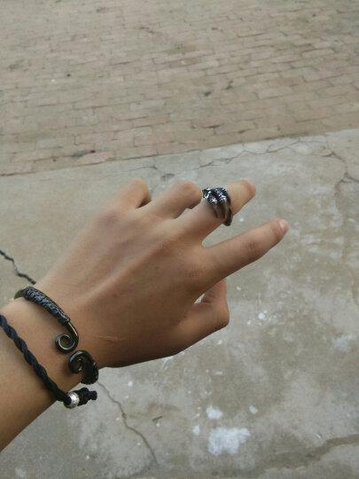 BEIER 时尚饰品 欧美风格戒指男潮戒指男士单身霸气龙爪指环 戒指男款 美码10#=国22# 晒单图
