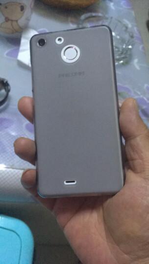 彩盾 斐讯c1330手机壳保护套布丁套软套纯色 适用于斐讯c1330/PHICOM小龙7 布丁套*透灰 晒单图