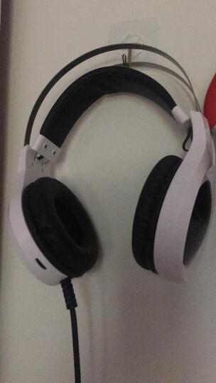 HYUNDAI专业电竞游戏耳机头戴式自适应带咪耳麦 竞技降噪立体声重低音耳机 汉玉白 标配 晒单图