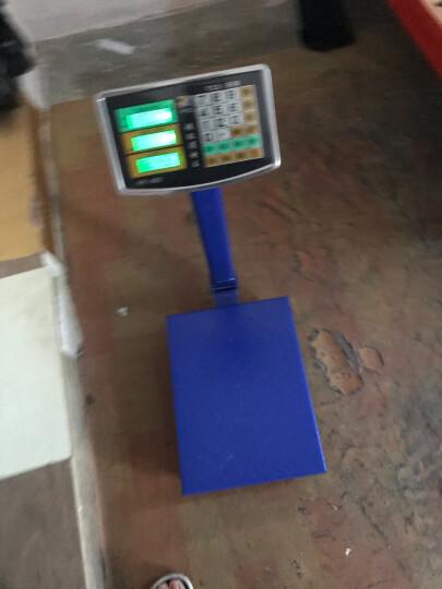 今选称重电子秤商用台秤150KG电子称台称300kg计价秤水果磅秤计数 150kg特厚1.5mm液晶黑字602 晒单图
