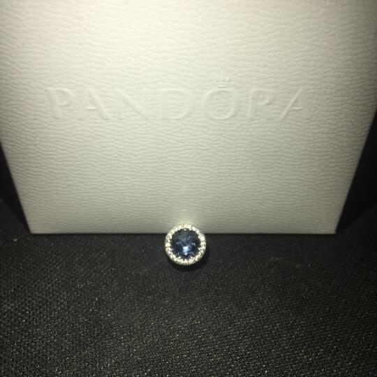 PANDORA 潘多拉 夜空蓝色星月串珠 791992CZ 晒单图