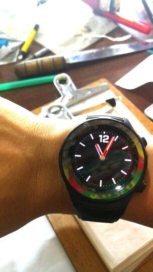 华为(HUAWEI) 手表Watch2/Pro/2018智能手表电话独立通话运动心率男女款 碳晶黑︱蓝牙版(送钢表带) 官方标配 晒单图