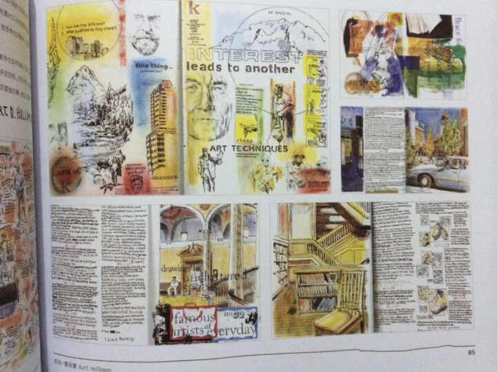 手绘的奇思妙想:49位设计师的创意速写簿(珍藏版) 晒单图
