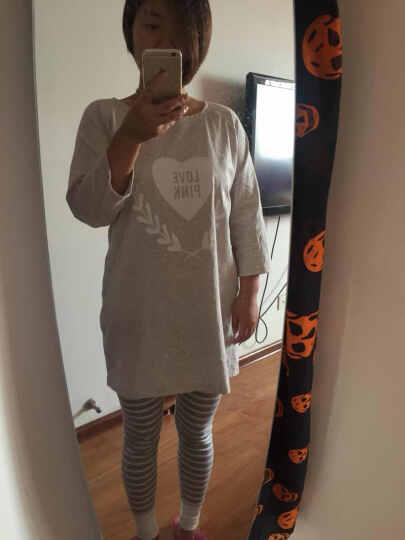 斯服玛sifuma 睡衣女夏季情侣睡衣纯棉短袖套装男士家居服 棉质女士时尚卡通可外穿 8208宝蓝(女款) M码 晒单图