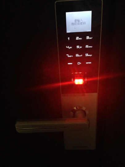 德施曼Dessmann指纹锁家用智能防盗门锁电子密码锁 星夜银【全国包安装+三年质保+终身维保】 晒单图