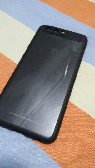 KOOLIFE 华为P10手机壳/保护套 全包边亚克力透明壳摄像头保护防摔壳 适用于华为 p10 黑色 晒单图