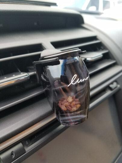 快美特(CARMATE)露力沸石风口香薰 汽车用车载出风口香水 装饰用品挂件摆件 茉莉之星 黑色 晒单图