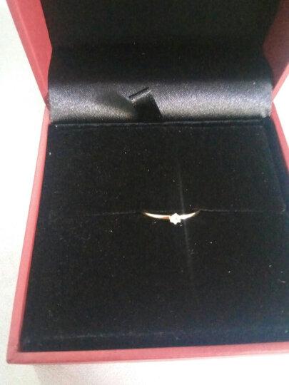 周大福(CHOW TAI FOOK)18K金镶钻石戒指 U159096 1600 10号 晒单图