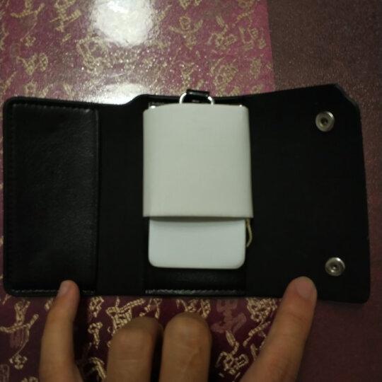 博牌BOPAI钥匙包 男士牛皮腰挂钥匙扣 多功能车锁匙包牛皮黑色16-00702 晒单图
