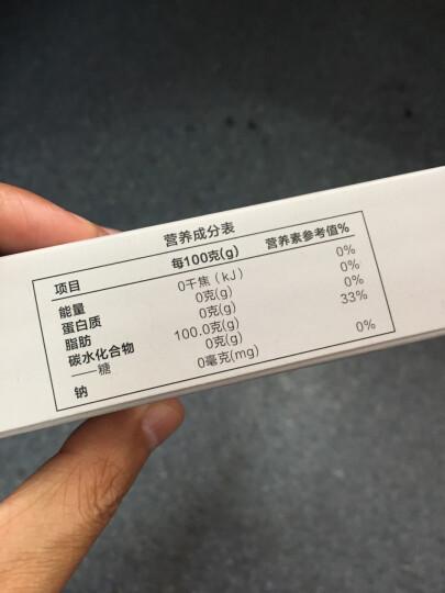 每日膳道 咖啡糖包伴侣调糖零热量奶茶伴侣25g(50条*0.5g) 晒单图