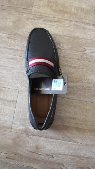 BALLY巴利奢侈品男鞋男士休闲鞋商务鞋 PEARCE 6206925 300 6206928棕色 7.5/41.5 晒单图