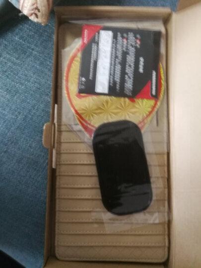 轩之梦汽车cd夹遮阳板套多功能车用光盘碟片套收纳袋车载cd包汽车用品汽车装饰 CD夹优雅米 晒单图